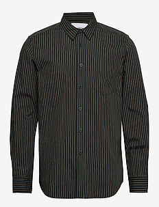 One Pocket Shirt - casual skjortor - green stripe