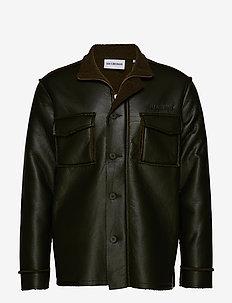 Outer Jacket - skinnjackor - green
