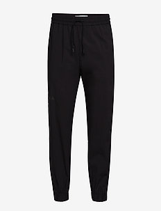 Track Pants - BLACK CREPE