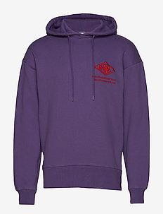Bulky Hoodie - hoodies - faded purple