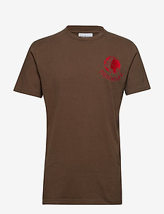 Artwork tee - FADED BROWN