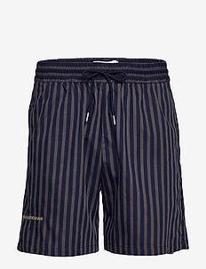 Track Shorts - casual shorts - navy stripe