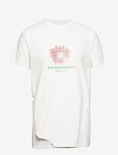 Artwork Tee - short-sleeved t-shirts - ravage off-white