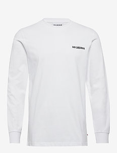 Casual Long Sleeve Tee - basic t-shirts - white logo