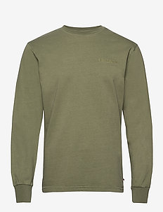 Casual Long Sleeve Tee - ARMY LOGO
