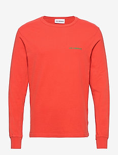 Artwork Tee Long Sleeve - langærmede t-shirts - faded red