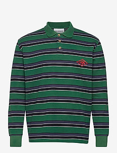 Polo Tee Long Sleeve - langermede - multicolor green