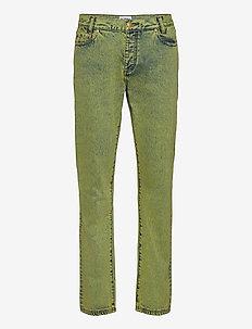 Denim Jeans - slim jeans - lime