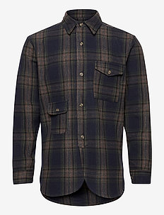 Army Shirt - overdeler - dark check