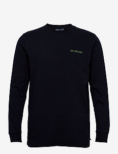 Casual Long Sleeve Tee - basic t-shirts - mood indigo