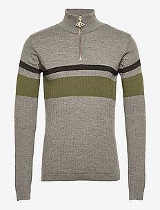 Half Zip Long Sleeve - half zip-trøjer - grey