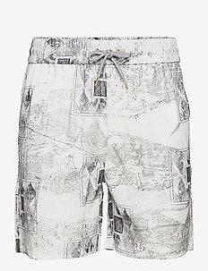 Track Shorts - krótkie spodenki - bleach diamond