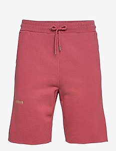 Sweat Shorts - casual shorts - faded dark red