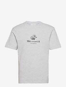 Artwork Tee Short Sleeve - t-shirts à manches courtes - grey melange