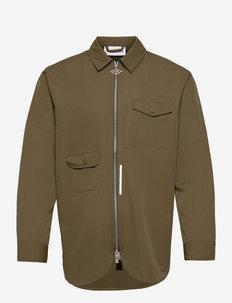 Army Shirt Zip - windjassen - green