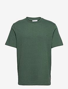 Casual Tee Short Sleeve - t-shirts - dusty green logo