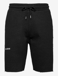 Sweat shorts - casual shorts - black logo