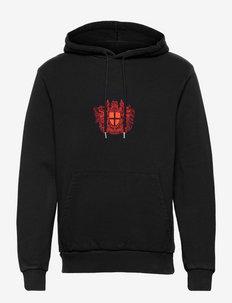 Casual Hoodie - hoodies - faded black