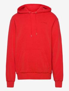 Casual Hoodie - kapuzenpullover - red