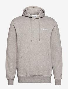 Casual Hoodie - hettegensere - grey melange