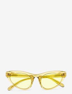 Race - d-shaped - yellow transparent