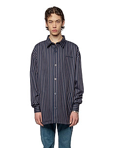 Shirt Jacket - overshirts - navy stripe