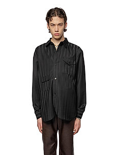 Army Shirt - basic skjortor - black woven stripe