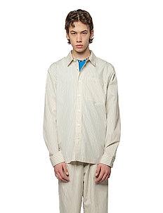 Boxy Shirt - koszule casual - blue pinstripe