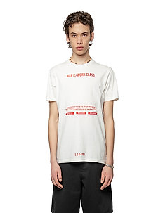 Artwork Tee - kortärmade t-shirts - off white