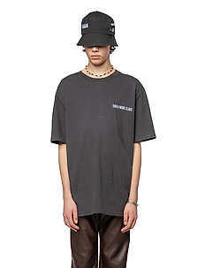 Boxy Tee - basic t-shirts - faded black