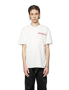 Boxy Tee - kortärmade t-shirts - off white