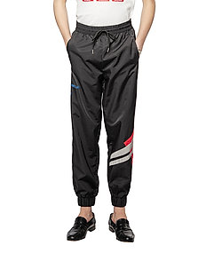 Track Pants - joggingbyxor - black colourblock