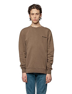Casual Crew - basic sweatshirts - brown logo