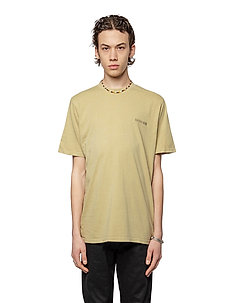 Casual Tee - basic t-shirts - sand logo