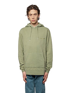 Casual Hoodie - basic sweatshirts - army logo