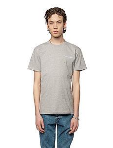 Casual Tee - kortärmade t-shirts - grey melange