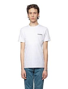 Casual Tee - kortärmade t-shirts - white