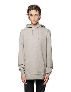Casual Hoodie - hoodies - grey melange