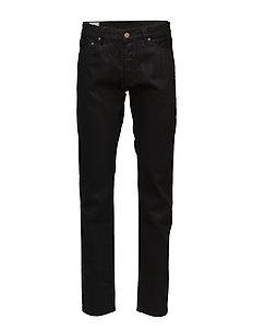 Tapered Jeans - regular jeans - black black