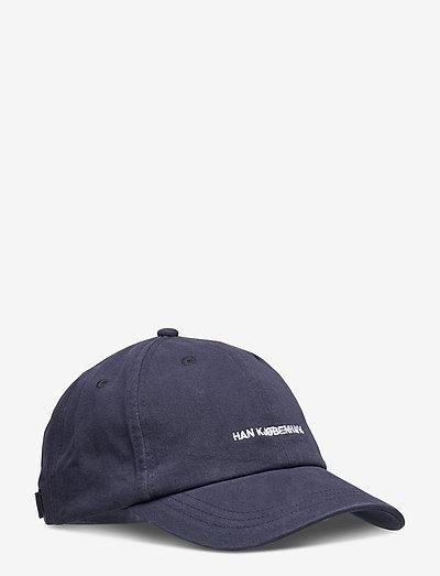 Cotton Cap - petten - navy logo