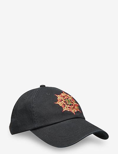 Artwork Cap - petten - faded black