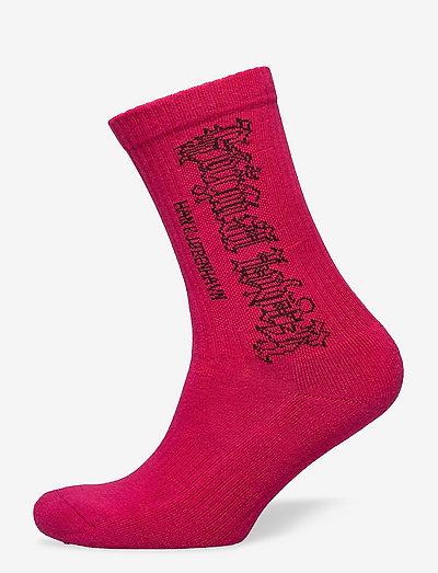 Socks - enkelsokken - faded pink