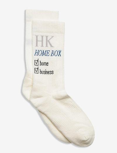 Socks - kousen - off white