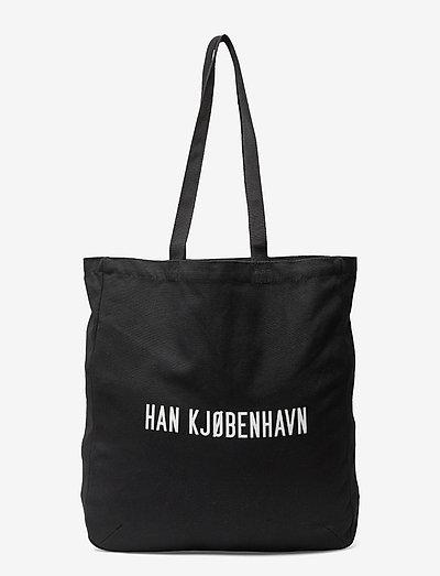 Tote Bag HAN KJØBENHAVN - shoppers & tote bags - black