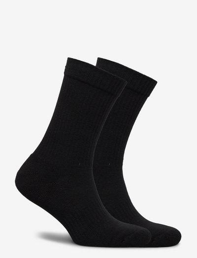 HK - 2 pack socks - kousen - white logo