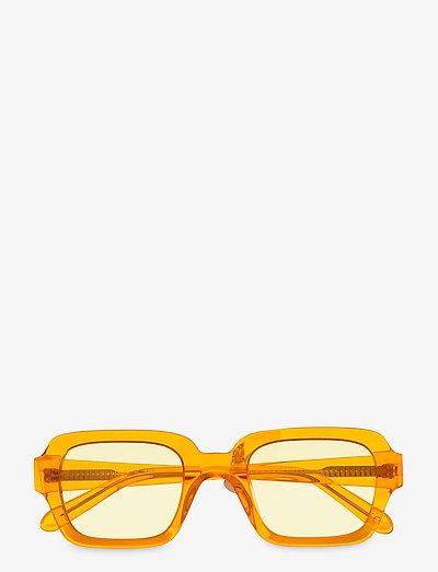 Code - d-vormige zonnebril - transparent orange