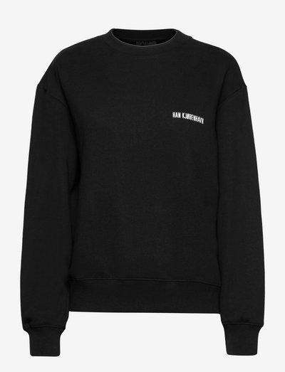 Bulky Crew - gensere og hettegensere - black logo