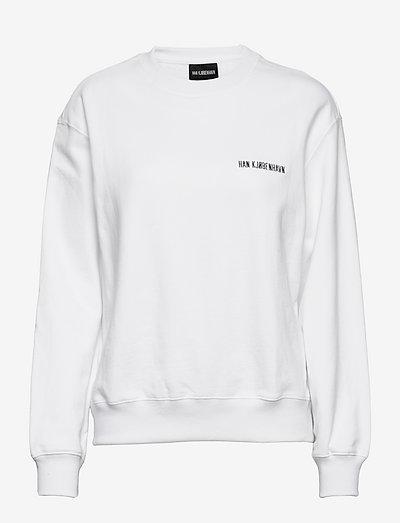 Bulky Crew - sweatshirts & hoodies - white logo