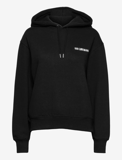 Bulky Hoodie - sweatshirts & hoodies - black logo