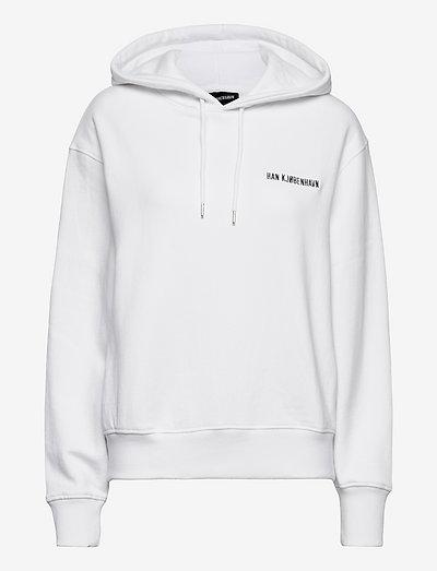 Bulky Hoodie - sweatshirts & hoodies - white logo